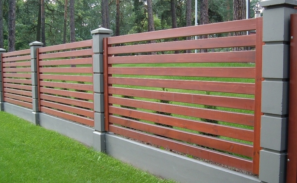 фото дачный забор