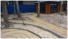 Процесс укладки тротуарной плитки3