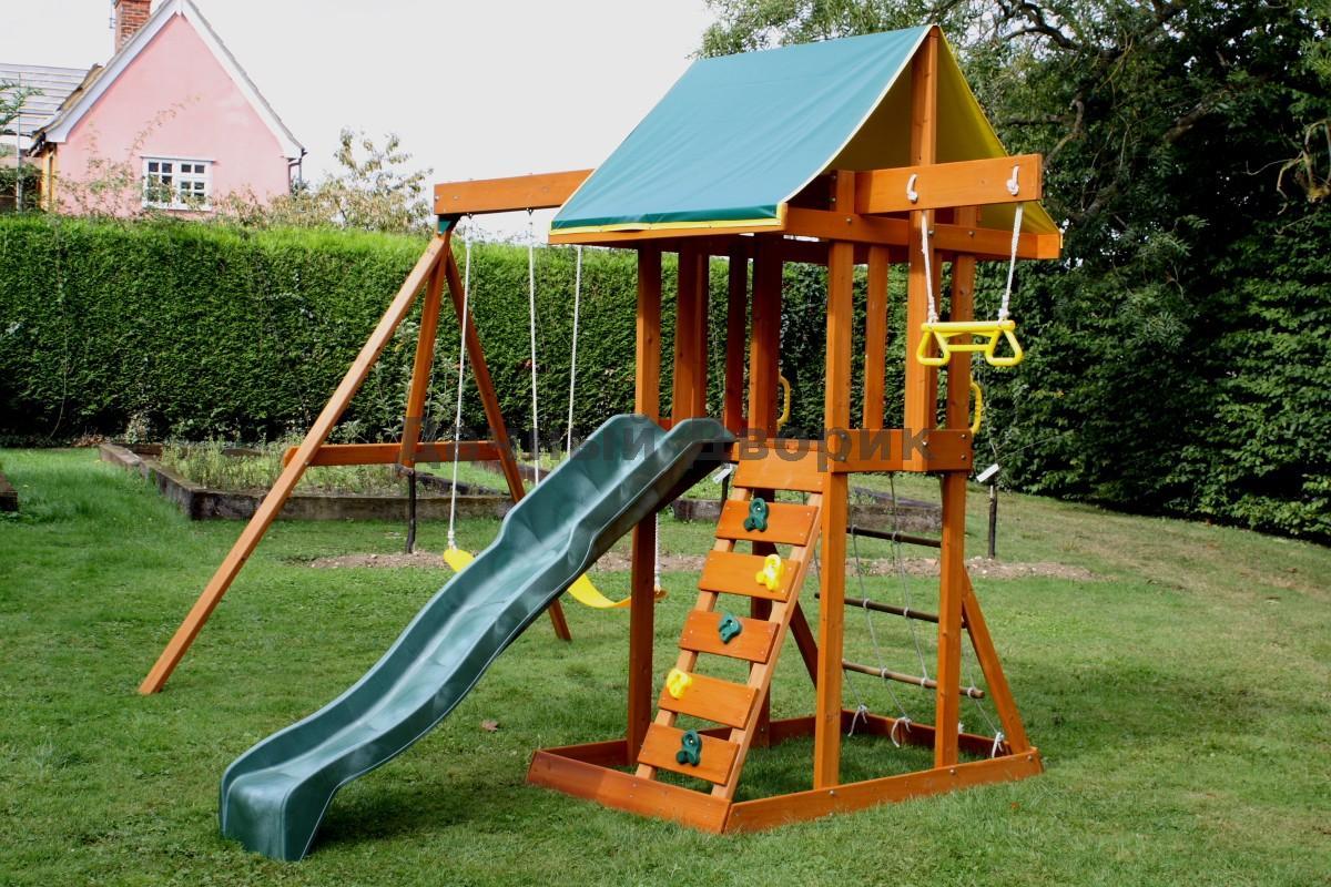 Детский спортивный комплекс для дачи: место для отдыха ребенка 53