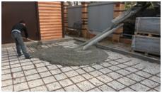 Процесс укладки тротуарной плитки2