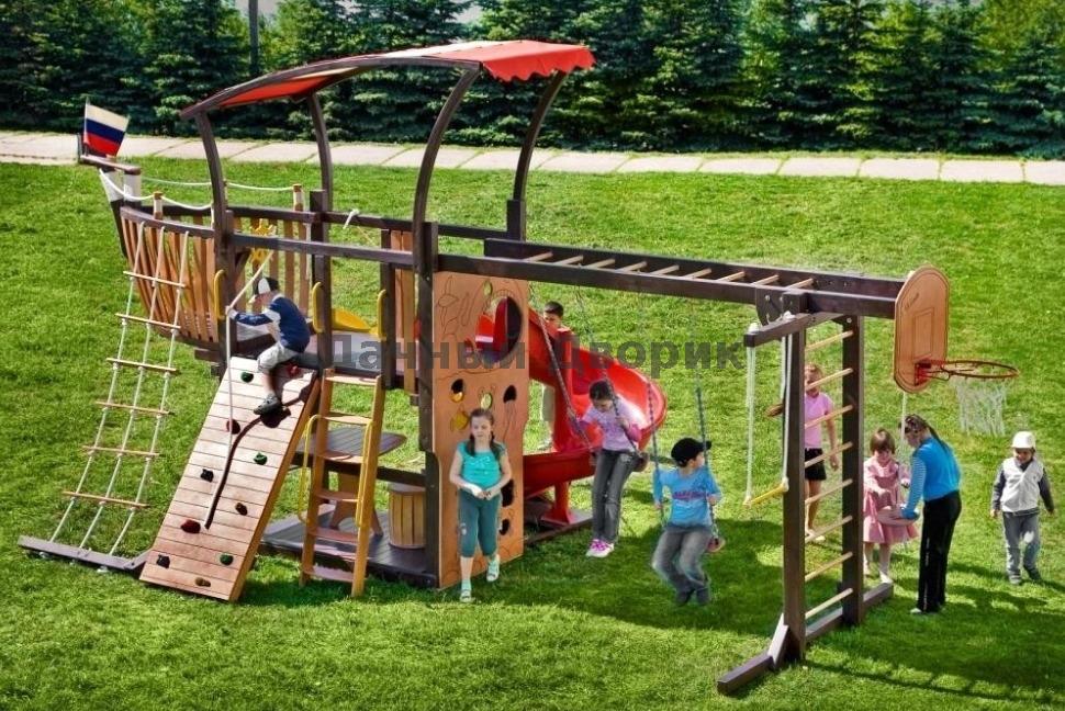 Детские игровые комплексы и площадки своими руками